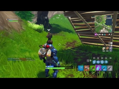 TRADING GOODS WITH A GENEROUS STRANGER ON FORTNITE!!!