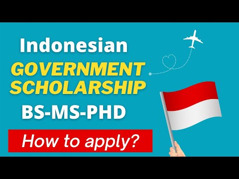 How to Apply for KNB Scholarship? Indonesian Government Scholarship 2021