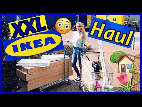 xxl ikea haul i m bel einrichtung und dekoration youtube. Black Bedroom Furniture Sets. Home Design Ideas
