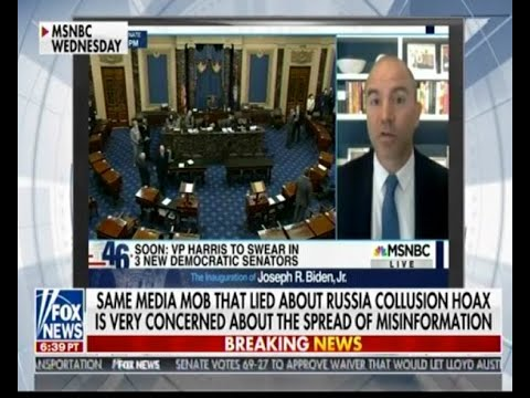 Same media mob that lied about Russia collusion hoax is concerned about the spread of misinformation