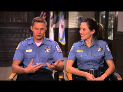 Chicago PD 2х01 Cast s Marina Squerciati and Brian Geraghty