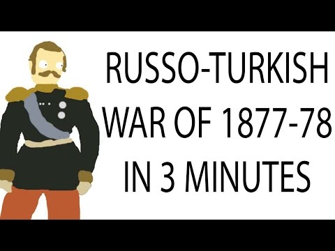 Russo-Turkish War 1877-78 | 3 Minute History