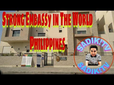 Philippine embassy kuwait - YouTube