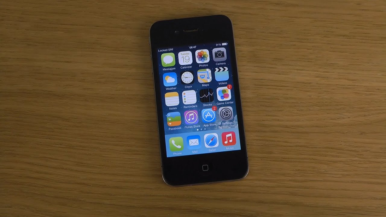 iphone 4 ios 7 1 beta review youtube. Black Bedroom Furniture Sets. Home Design Ideas