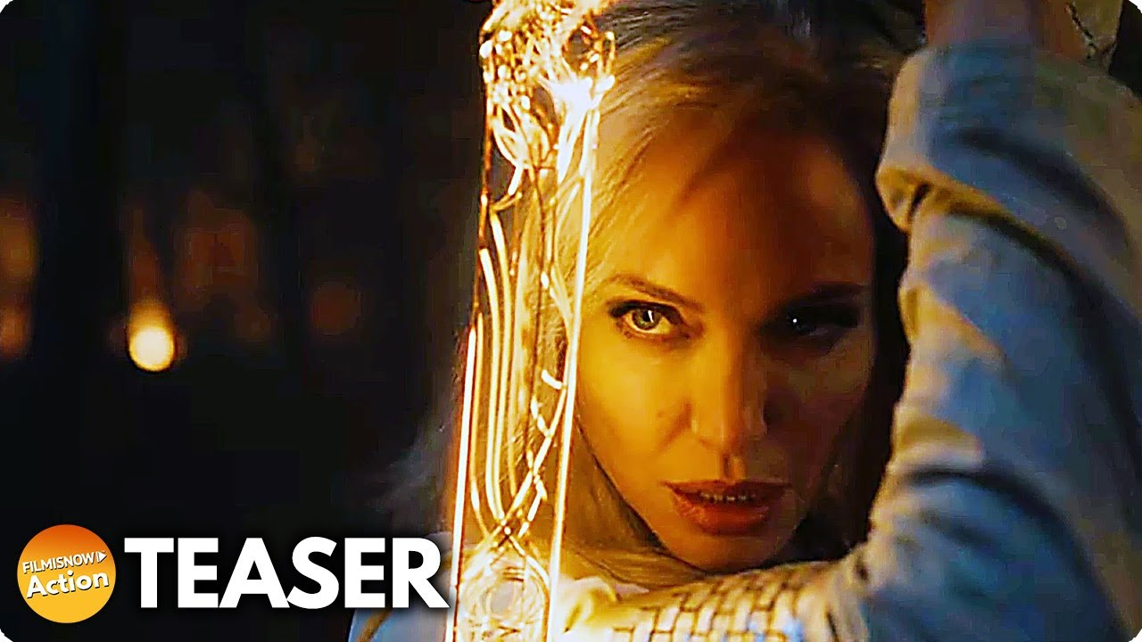 ETERNALS (2021) First Look Teaser - Marvel Studios Celebrates The Movies