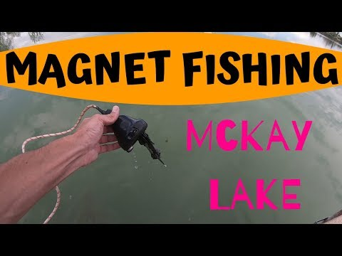 Magnet Fishing McKay Lake In Colorado