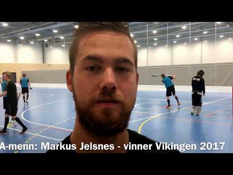 Markus Jelsnes - årets Viking 2017