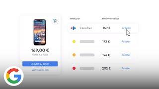 Comparez les prix de nombreux marchands et achetez directement sur Google - Google France