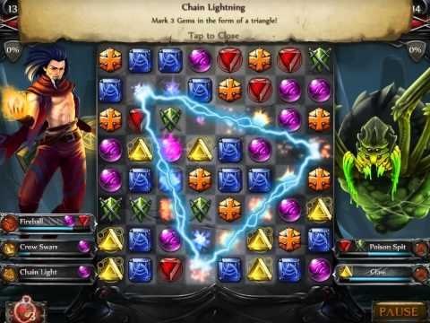 Jewel Fight: Heroes of Legend PC/Steam - Mage Character