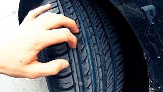 Ауди А6 на треке: дешёвые шины против дорогих!