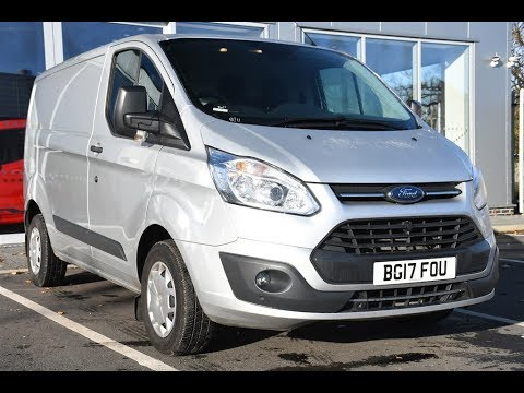 27e31023adc5e7 Used Ford Transit Custom 2.0 TDCi 105ps Low Roof Trend Van Lcv - YouTube