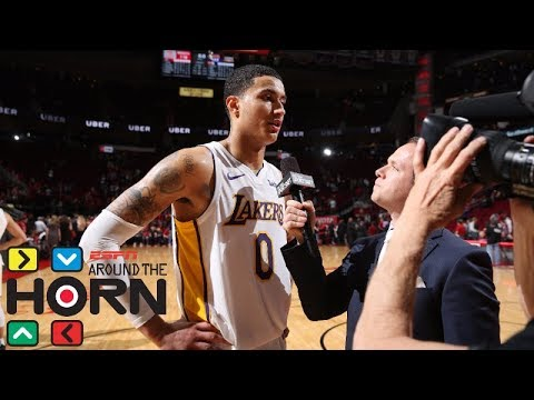 Kyle Kuzmas 38-point game against the Rockets puts NBA on notice | Around the Horn | ESPN