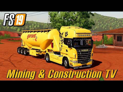 Produce Cement And Lime Mining And Construction Map Farming Simulator 2019