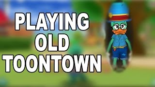 Playing Old Toontown - Toontown 2003 - Toontown Archive