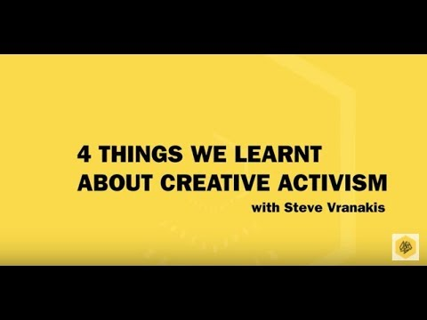 D&AD Festival 2017: 4 Things We Learnt About Creative Activism with Steve Vranakis