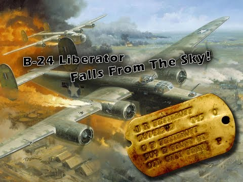 Cpl Jack Fetterolf- B-24 Falls From The Sky!