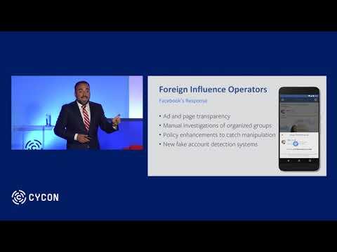 Keynote by Mr. Alex Stamos - CyCon 2018