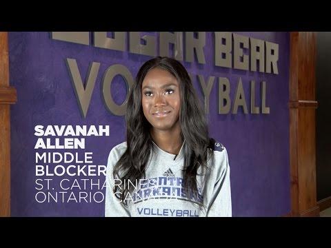 Volleyball: Meet Savanah Allen