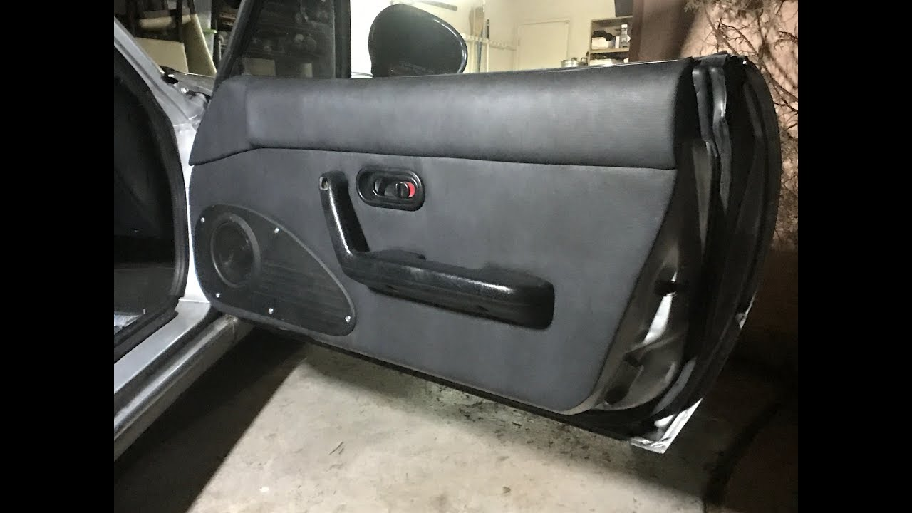 Mazda Miata Mx 5 Custom Door Cards Full Tutorial Youtube