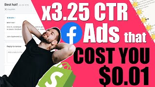 X3.25 Ctr With Facebook Ads That Cost You $0 | User Generated Content Cheatsheet