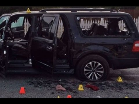 Young Dolph SUV Shot Up At CIAA Weekend Raw Footage