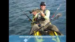 Cedros Fishing on Kayaks 2011 with Cedros OUTDOOR Adventures.mov