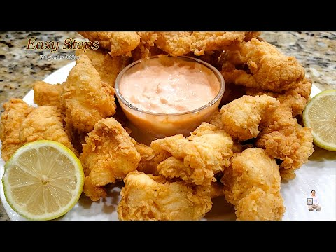 Popcorn Fish Recipe | Crispy Popcorn Fish Appetizers