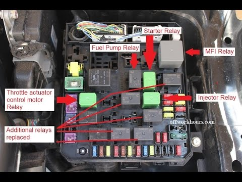 hqdefault mitsubishi lancer ralliart and evolution x relay replacement youtube 2010 mitsubishi lancer fuse box location at edmiracle.co