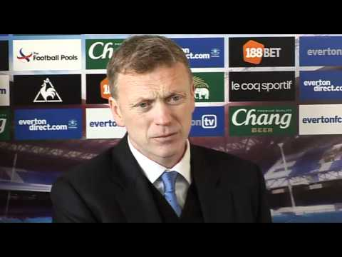 Moyes reaction to Chelsea draw