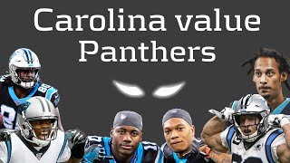 The Carolina Panthers are absolutely loaded with fantasy value this season