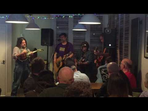 Hayseed Dixie live at Relevant Records, Cambridge, 22 April 2017 RSD