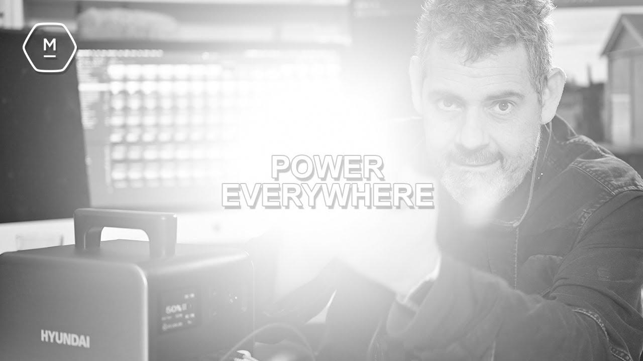 Power Trip | Hyundai HPS-300 Portable Power Station | Need This Much Power? | Matt Irwin