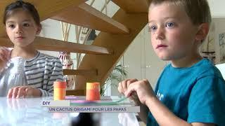 Yvelines | DIY : Un cactus origami pour les papas