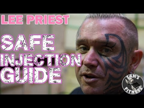 LEE PRIEST Guide to SAFE INJECTION for BODYBUILDING