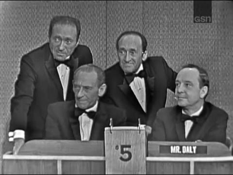 What's My Line? - Ritz Brothers; Joey Bishop [panel] (Mar 12, 1961)