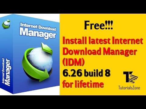 Free Install Latest Internet Download Manager (IDM) 6.26 build 8