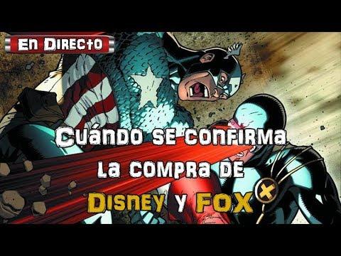 ¿Ya se realizó la compra de Disney a FOX?