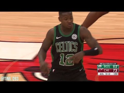Terry Rozier Highlights vs Chicago Bulls (15 pts, 8 reb, 3 stl)