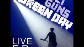 Green Day - Brain Stew/Jaded (Live) 21 Guns Live EP
