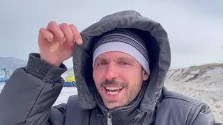 Прогулка на катерах на воздушной подушке по льду Байкала. Март 2021