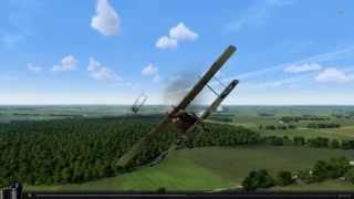[Rise Of Flight] Halberstadt DII vs. R.E.8