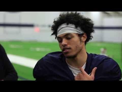 Penn State's John Reid talks about his return after missing last season