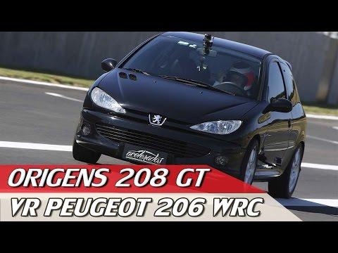 ORIGENS: PEUGEOT 208 GT THP + VOLTA RÁPIDA 206 WRC COM RUBENS BARRICHELLO #02   ACELERADOS