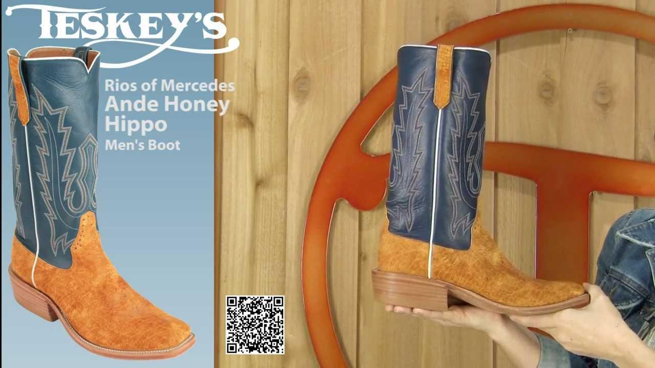 aa0844ea88c Honey Hippo Cowboy Boots from Rios of Mercedes at Teskeys!