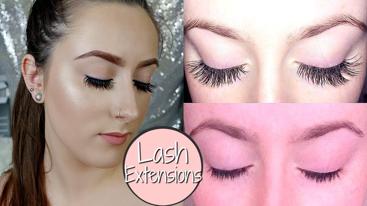 fb19ac170f2 WATCH THIS BEFORE GETTING EYELASH EXTENSIONS: FIRST TIME FAQ - YouTube
