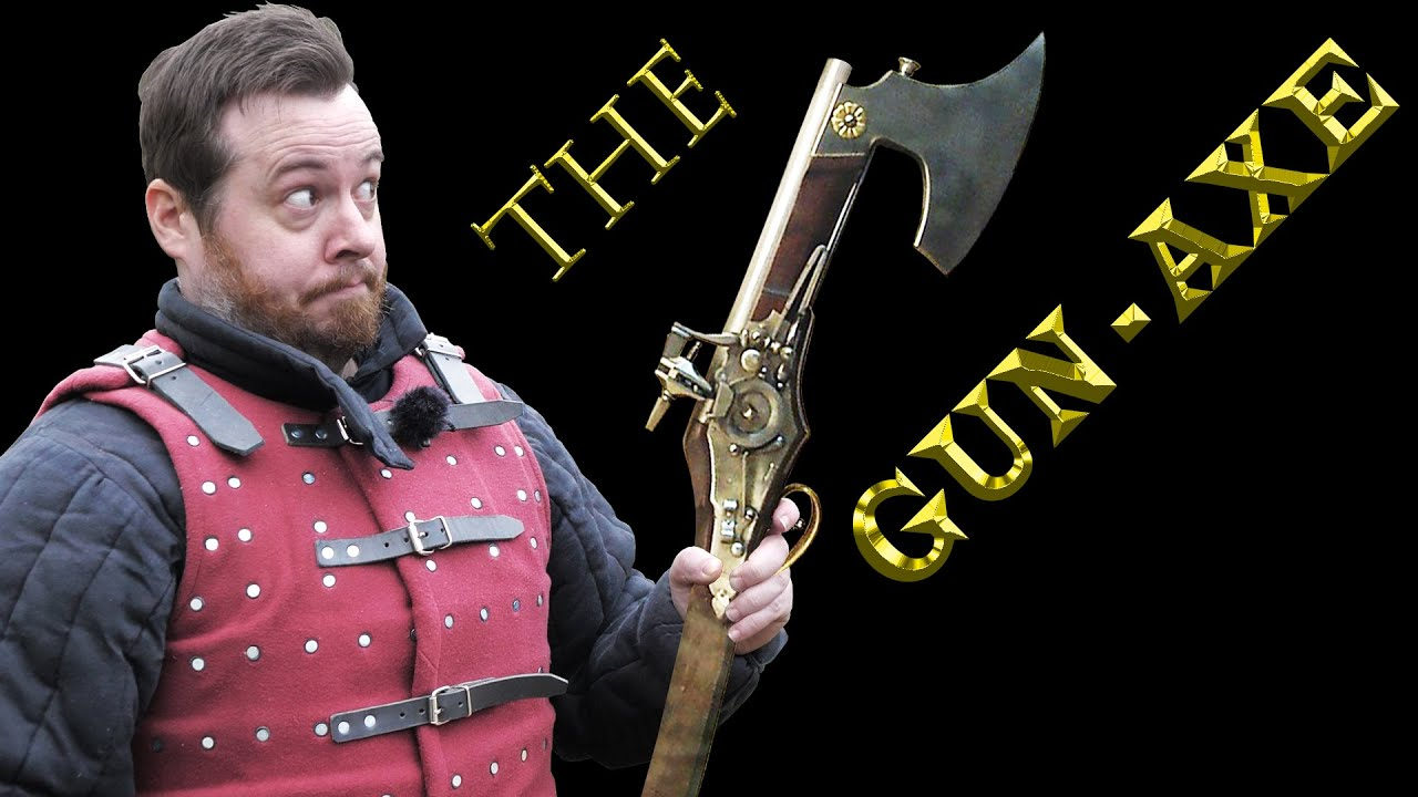 Underappreciated historical weapons: THE GUN-AXE