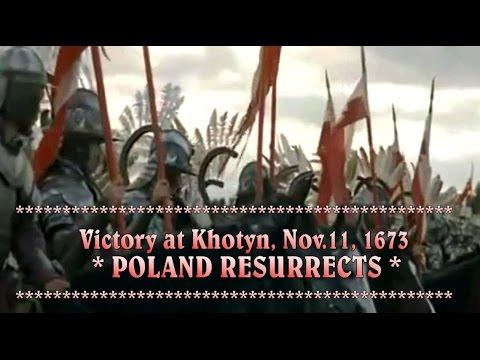 Catholic Poland crushes the Islamic invasion on Europe, 1672 - 1673
