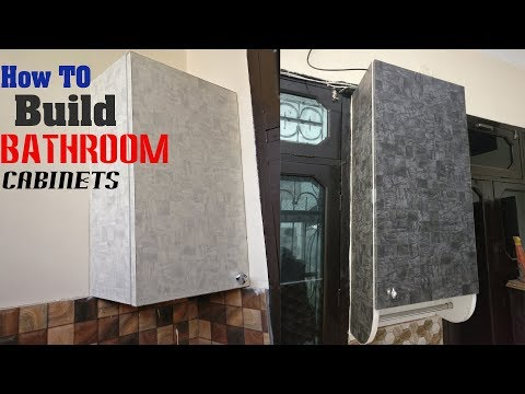 Build Bathroom cabinet