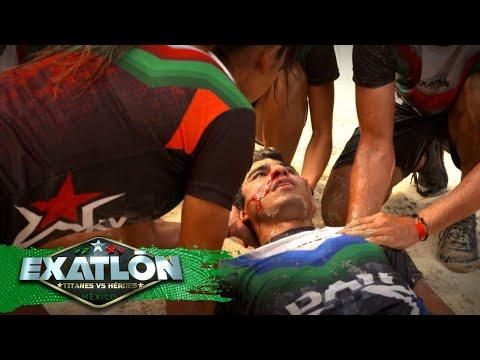 ¡Dan Noyola sufre terrible accidente! | Avance Episodio 142 | Exatlón México