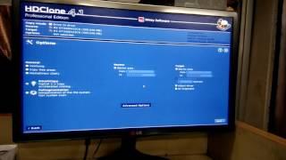 How to clone a hard drive. Using HD clone